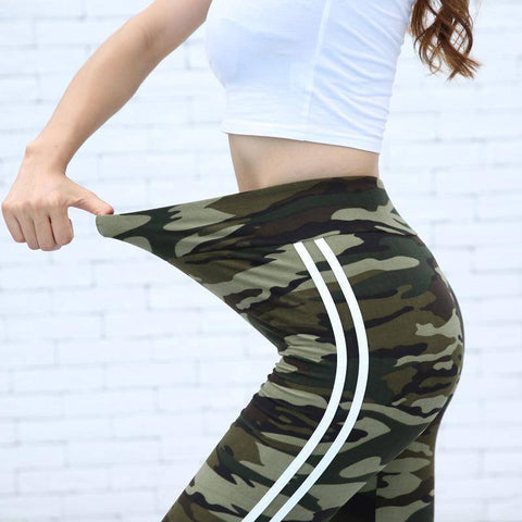 Women Camouflage Leggings