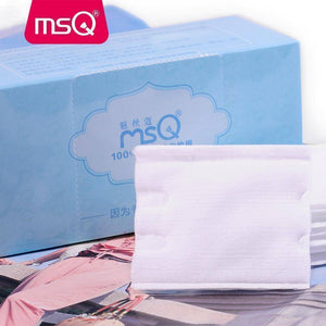 5Box/Lot MSQ Double-deck Cleansing Cotton Pad