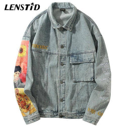 Van Gogh Dates Denim Jacket
