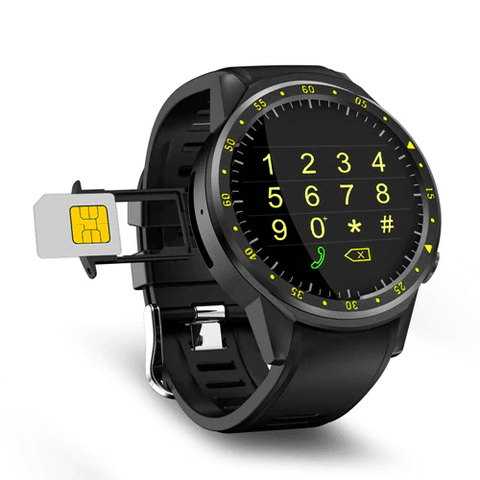 Sports Pedometer GPS Smart Watch | With Camera Support