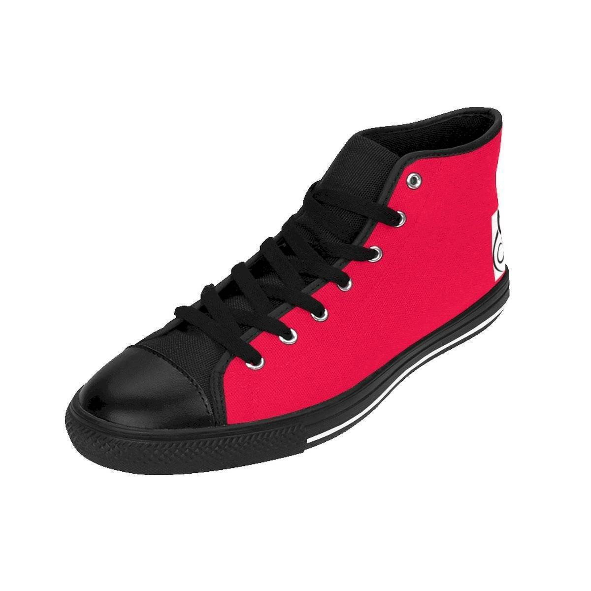 A18 Red High Tops Men