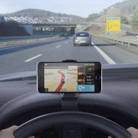 Image of GPS Navigation Dashboard Phone Stand