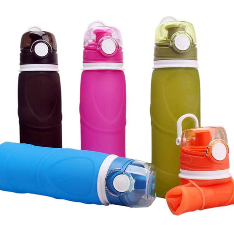 Eco-friendly Silicone Water Bottle