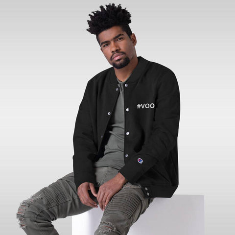 Image of #VOO Echo Friendly Champion Bomber Jacket
