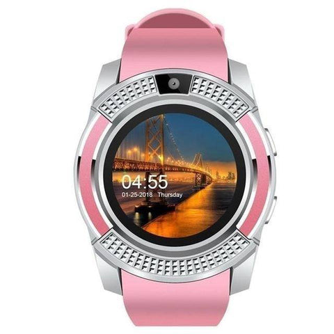 Waterproof Smartwatch With Camera/SIM Card Slot
