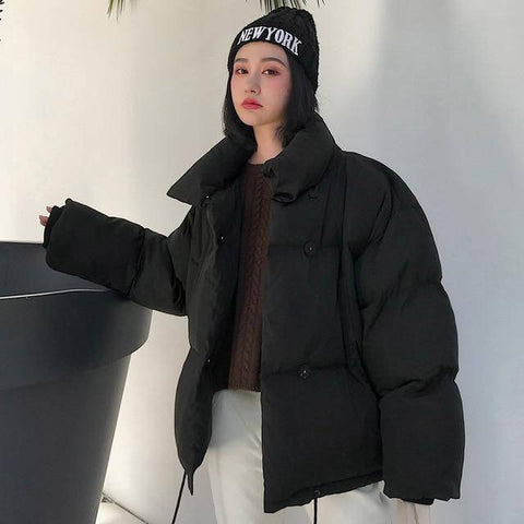 Image of Oversized Women Winter Jacket