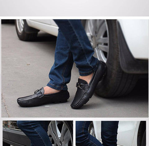Image of Slip On Men Leather Shoes