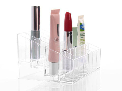 Image of Transparent Makeup Cosmetic Storage Box