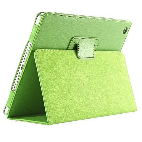 Image of For ipad Mini Case Matte Soft Flip Litchi PU Leather for Apple ipad Mini 1 2 3 Coque Cover Smart Stand Auto Sleep /Wake UP Style