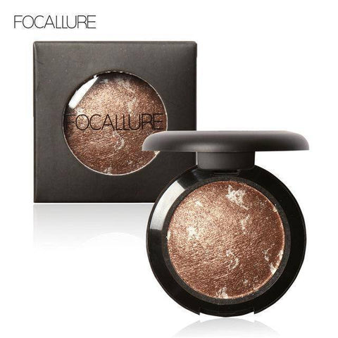 Image of 10 Colors Baked Eye Shadow Professional Eyeshadow Glitter Shimmer