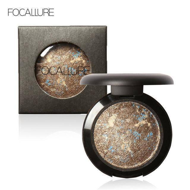 10 Colors Baked Eye Shadow Professional Eyeshadow Glitter Shimmer