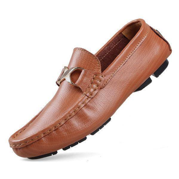 Slip On Men Leather Shoes