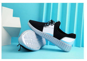 Air Mesh Male Glitter Shoes