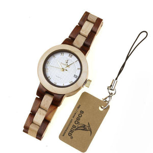 Women Quartz Wooden Watch
