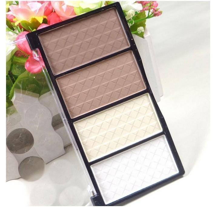 New Professional 4 Colors Concealer bronze Camouflage Makeup