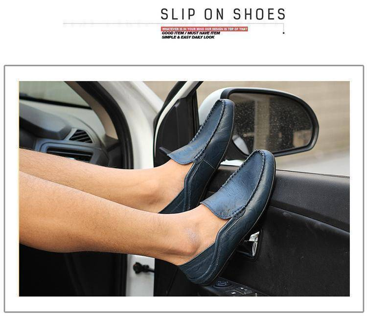 Genuine Leather Flats Shoes