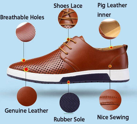 Image of Luxury Oxford Genuine Leather Shoes
