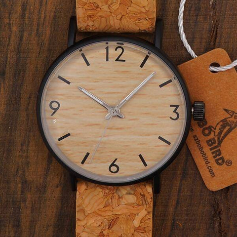 Image of BOBO BIRD WE18 Luxury Quartz Watches With Wood Face