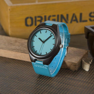 Handmade Ebony Wooden Lovers Watches