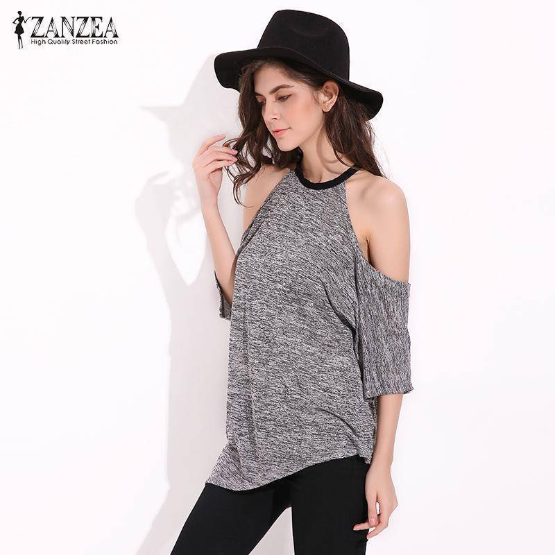 Sexy Off Shoulder T Shirts | Casual Loose T-shirt