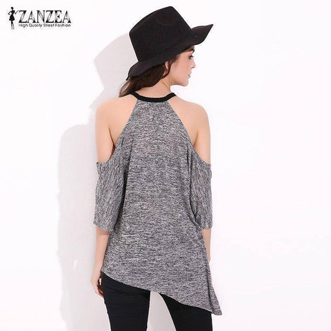 Image of Sexy Off Shoulder T Shirts | Casual Loose T-shirt