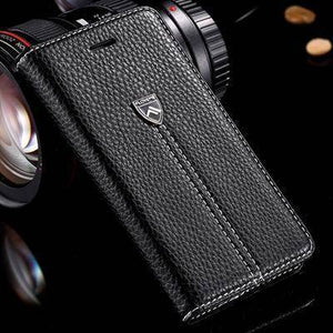 FLOVEME Case For Apple iPhone 7 Plus iPhone 6 6S Plus Luxury Magnetic Flip Leather Wallet For iPhone 6 7 Plus Case Holster Cover