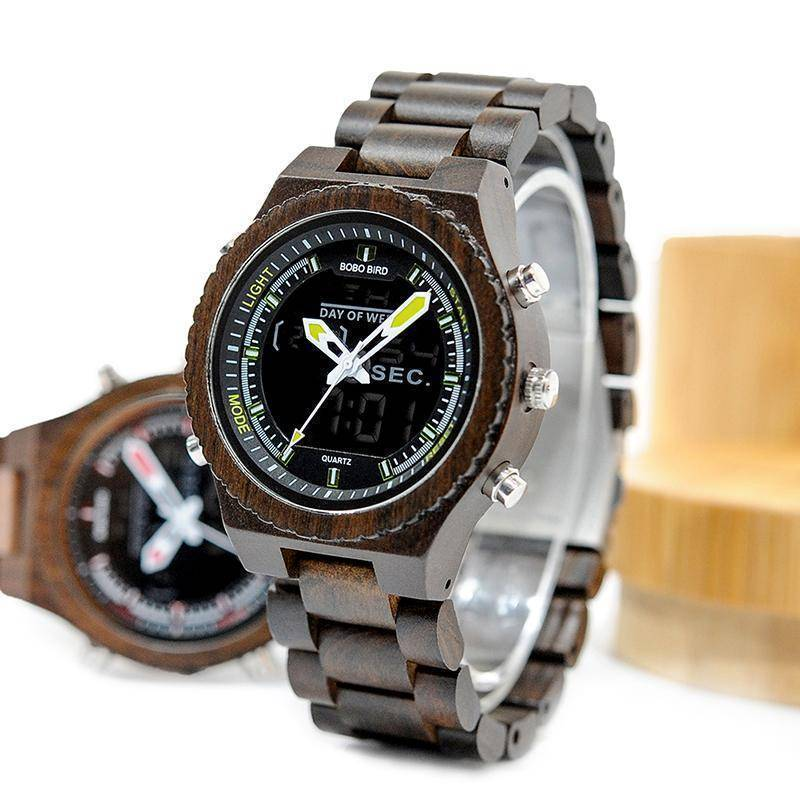 Men Dual Display Quartz Watch