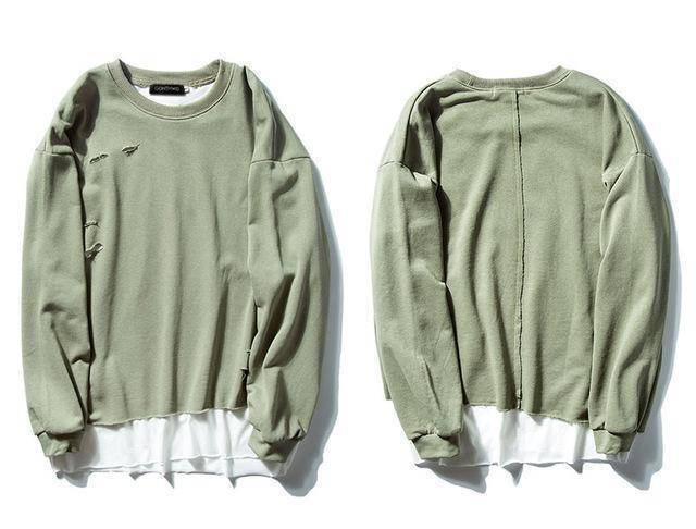 Double Layer Hoodies