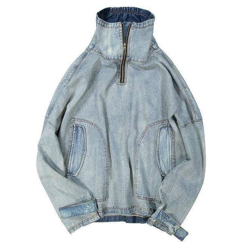 Image of Hip Hop Oversize Denim Jacket