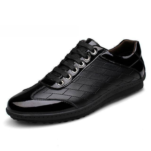 Merkmak New Brand Korean Sneakers Autumn Footwear Leather Big Size 37-44