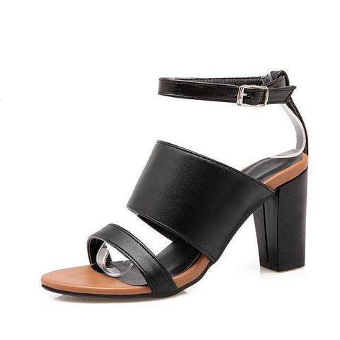 Image of Buckle Strap Women Sandals