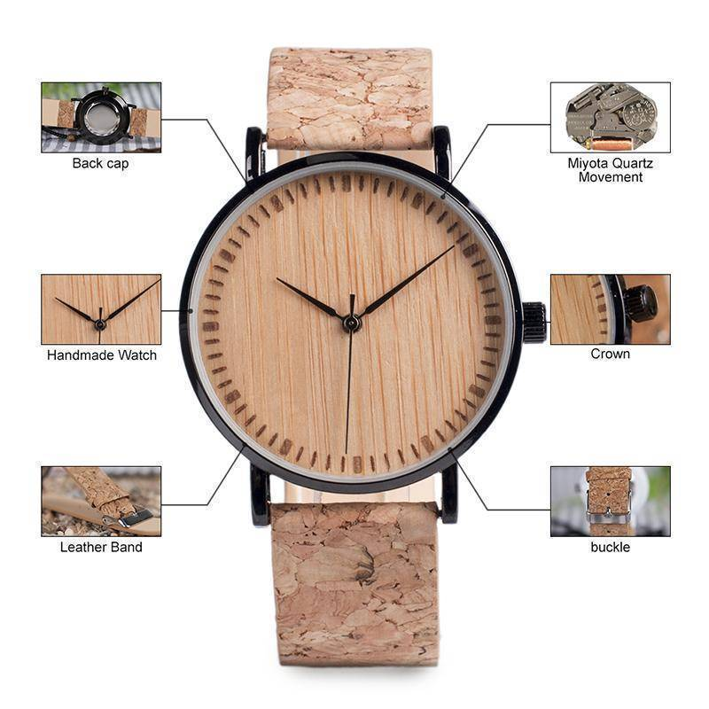 BOBO BIRD WE18 Luxury Quartz Watches With Wood Face