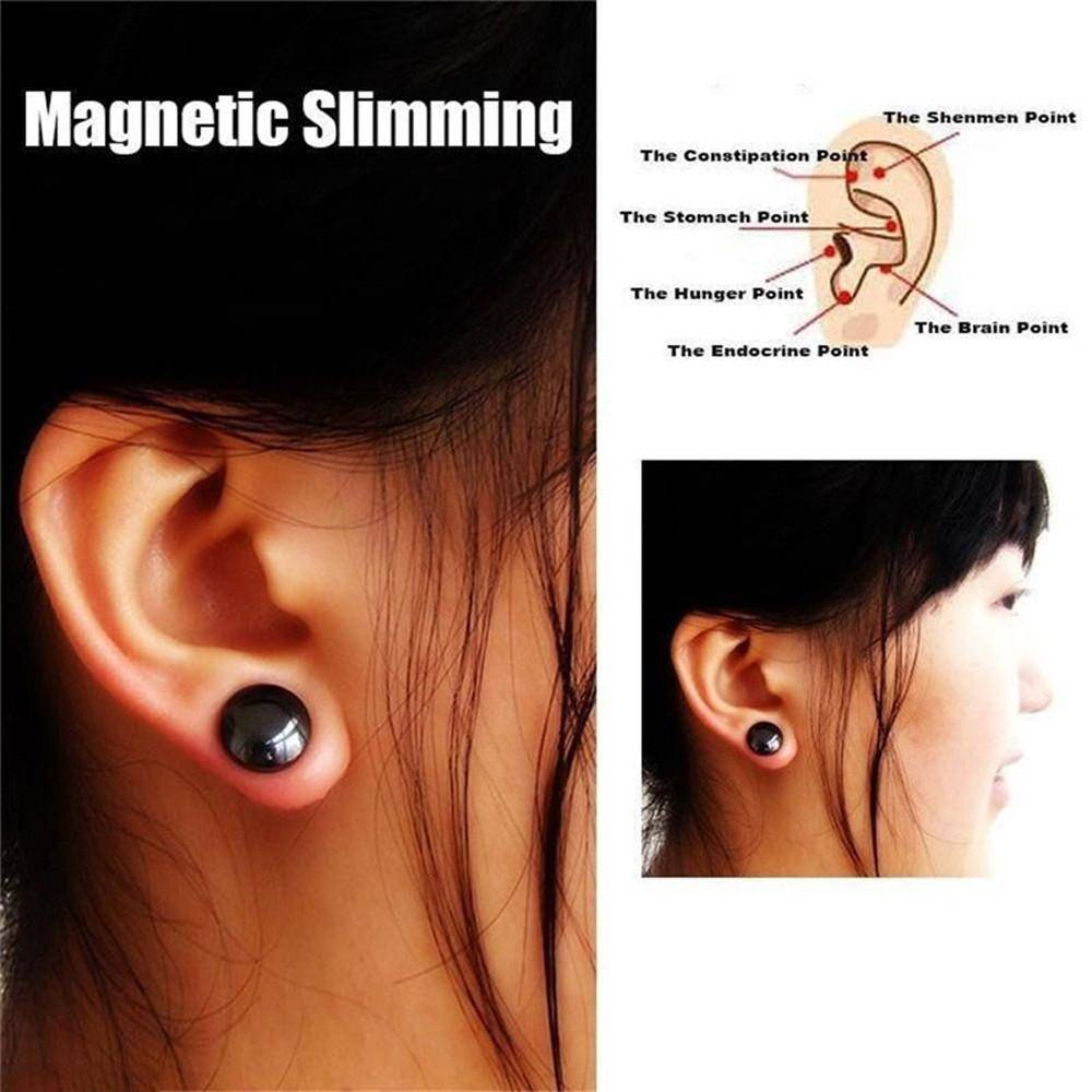 Bio Magnetic Slim Ear Stickers | Acupoints Loss Weight Earrings