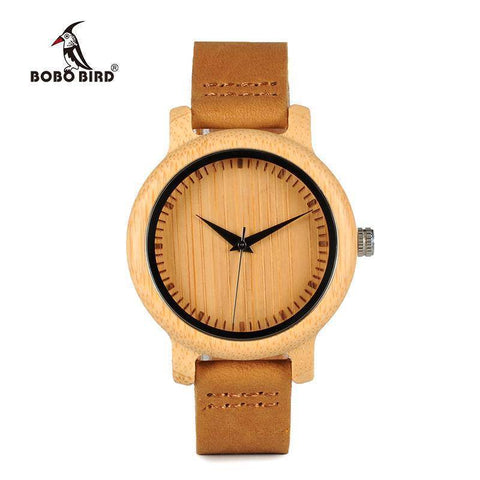 Image of Crypto Women Watches Bamboo Wooden Watch