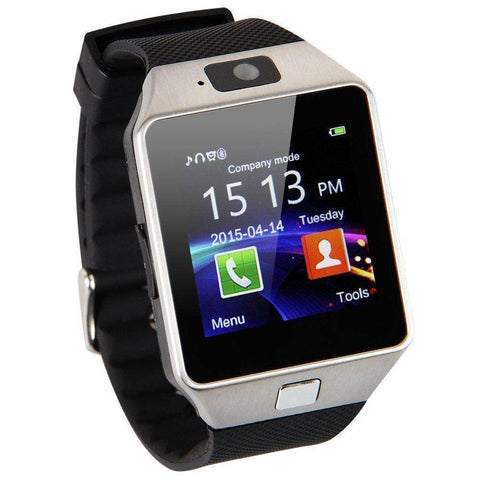 Bluetooth Smart Watch | GSM SIM Card With Camera for Android IOS Phones
