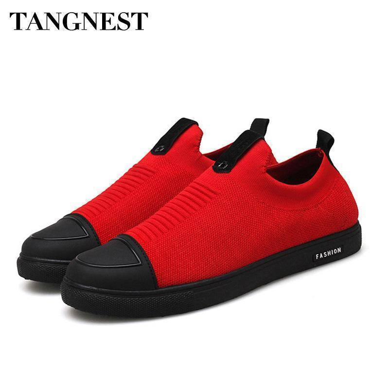 Men Mesh Shoes Slip-on Casual Shoes