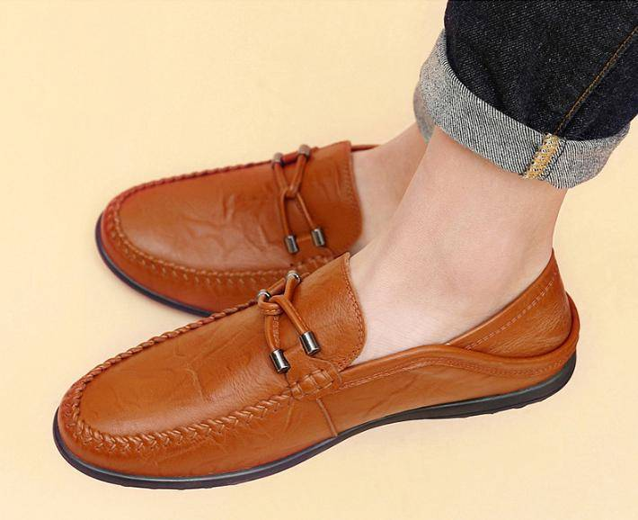 Breathable Genuine Loafe Moccasins XMR2814
