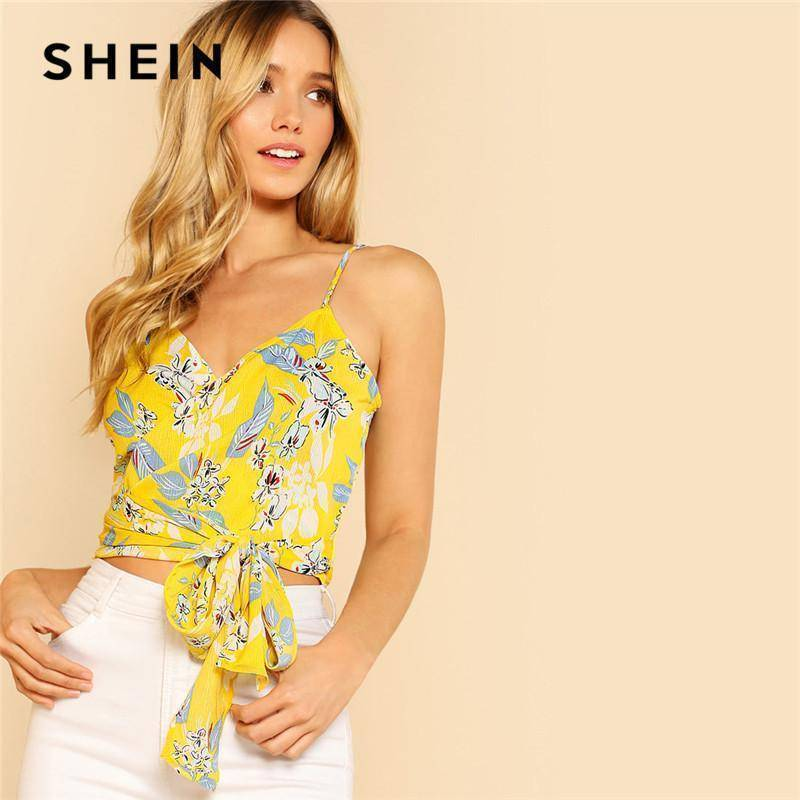 Floral Vacation Bohemian V-Neck Top