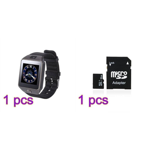 Image of Bluetooth Smart Watch | GSM SIM Card With Camera for Android IOS Phones