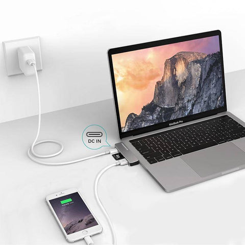 "Image of Multiport Usb-c Hub For Macbook Pro MacBook Pro 13"" 15"" 