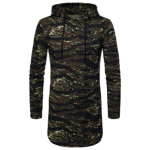 Image of Streetwear Camo Military Men Hoodies