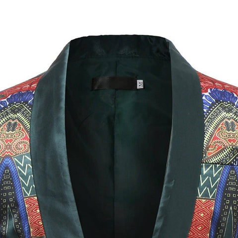 New African Dashiki Printed Coat