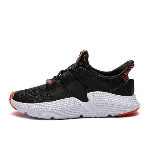 Image of Fly Weaving Running Shoes For Men | Spring Autumn Sport Shoes | High Quality Breathable Sneakers For Male | Damping Thick Bottom