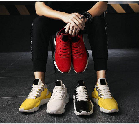 Fashion Lace up Light Men's Sneaker