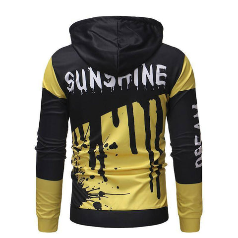 Image of Fashion Street Style Stitching Hoodie