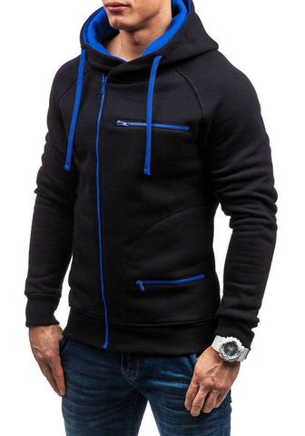 Image of Men Long Sleeve Zipper Jacket