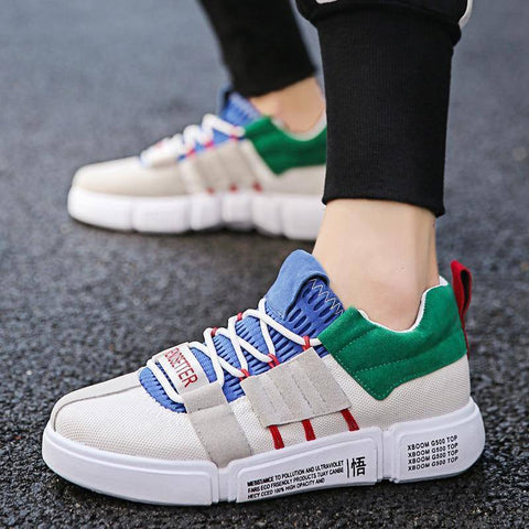 Casual Mixed Colors Men Sneakers