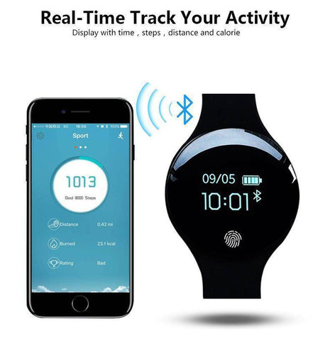 Touch Screen Fitness Smartwatch