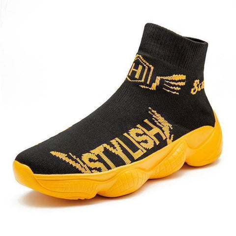 Trend Light Socks Sports Shoes