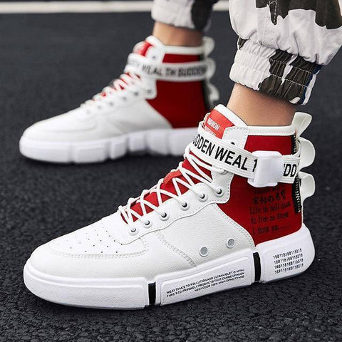 Image of Men's High Top Trend Fashion Sneakers